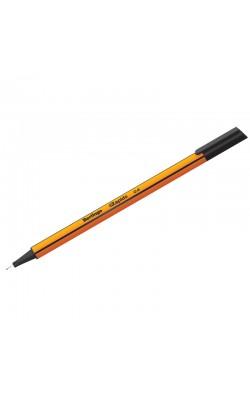 """Ручка капиллярная """"Berlingo"""" Rapido, 0,4 мм, чёрный, трёхгранная"""