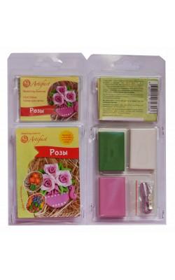 """Набор пластики с фурнитурой и инструкцией """"Коллекция Цветы. Розы"""", Artifact"""