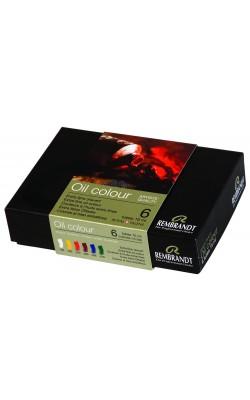Набор масляных красок Rembrandt 6 цветов*15мл