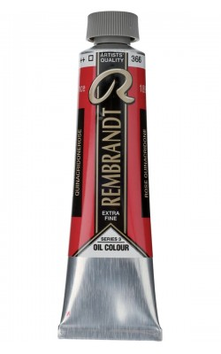 """Краска масляная """"Rembrandt"""", туба 40 мл, №366 квинакридон розовый"""