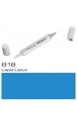 Маркер Copic Sketch двухсторонний, на спиртовой основе, цвет B18 лазурит