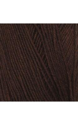 """Пряжа """"Афродита"""" 100гр. 250м, 50% шерсть, 50% акрил (12 коричневый)"""
