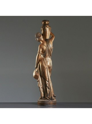 """Статуя """"Женщина с кувшином"""", 140 см, бронзовая, гипс, лаковое покрытие"""