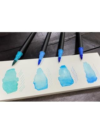 Набор акварельных двусторонних маркеров, 60 шт. Brush B 1-3 мм, Liner 0,4 мм не токсичный