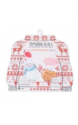 Термонаклейка для декорирования текстильных изделий, «Новогодние сладости»,15х15см