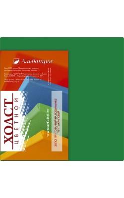"""Холст на подрамнике """"Альбатрос"""", 18*18 см, 100% хлопок, зелёный"""