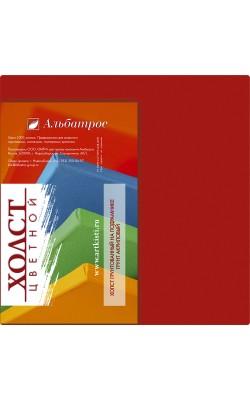 """Холст на подрамнике """"Альбатрос"""", 18*18 см, 100% хлопок, красный"""