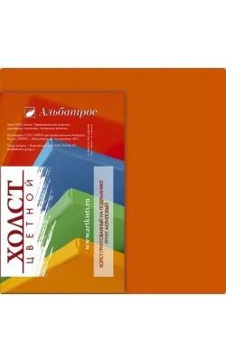 """Холст на подрамнике """"Альбатрос"""", 18*18 см, 100% хлопок, оранжевый"""