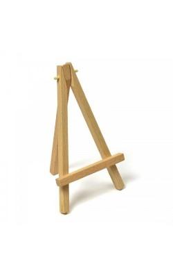 Мольберт декоративный, деревянный (вяз), размер 9х12 см