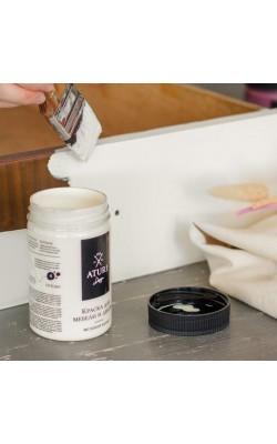 """Краска для мебели и декора """"ATURI"""" Design, Меловой Бархат, ванильный мусс, 400 гр"""