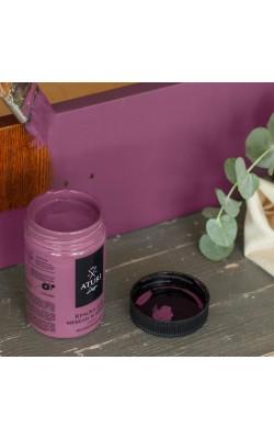 """Краска для мебели и декора """"ATURI"""" Design, Меловой Бархат, коллекционное вино, 400 гр"""