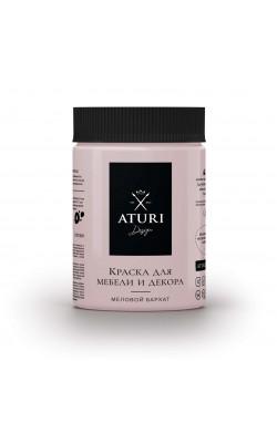 """Краска для мебели и декора """"ATURI"""" Design, Меловой Бархат, смущённая принцесса, 830 гр"""