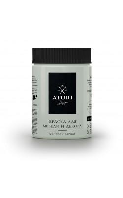 """Краска для мебели и декора """"ATURI"""" Design, Меловой Бархат, сензария, 830 гр"""