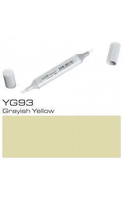 Маркер Copic Sketch двухсторонний, на спиртовой основе, цвет YG93 серовато-желтый