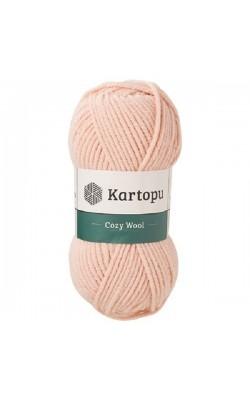 """Пряжа KARTOPU """"Cozy Wool"""" 100г 110м (25% шерсть, 75% акрил) (K1873)"""