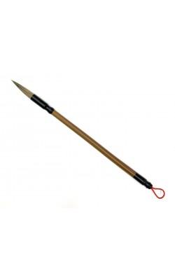 Кисть для каллиграфии, волос смешанный, ручка бумбуковая