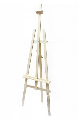"Мольберт ""Лира"" деревянный (вяз), холст до 127 см, размеры 66х87х231 см"