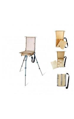 Этюдный ящик малый, бук, 35х25х9 см
