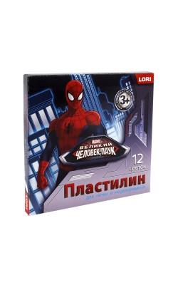 "Пластилин Marvel ""Человек-паук"" 12 цветов, 20 гр."
