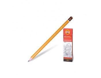 """Чернографитный карандаш """"Koh-I-Noor"""" 1500, 2H, 1 шт"""