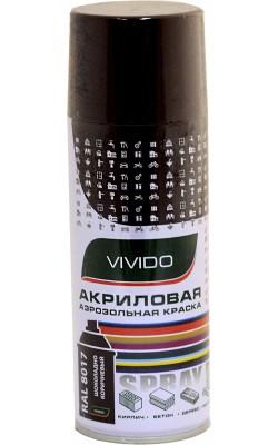 """Акриловая краска """"VIVIDO"""", шоколадно-коричневый RAL 8017, глянцевая"""