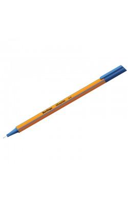 """Ручка капиллярная """"Berlingo"""" Rapido, 0,4 мм, синий, трёхгранная"""