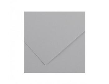 """Бумага для пастели """"Canson"""" Mi-Teintes, 50% хлопок, А4, 160 г/м2, серый стальной №431, 1 л"""