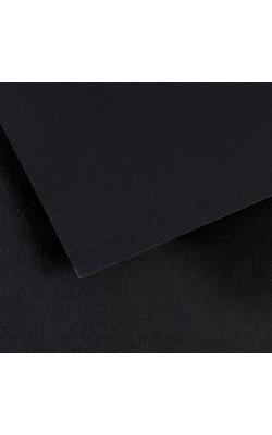 """Бумага для пастели """"Canson"""" Mi-Teintes, 50*65 см, 160 г/м2, чёрный №425, 1 л"""