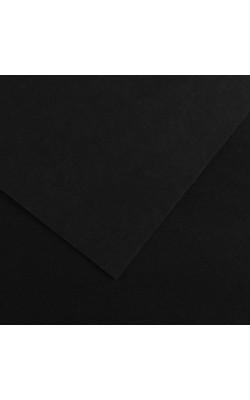 Бумага цветная Iris Vivaldi, 240 г/м2, 50*65 см, №38 черный, 1 л