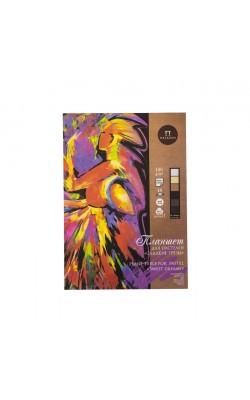 """Планшет для пастели """"Сладкие грёзы"""", 40% хлопок,  А2, 160 г/м2, 6 цветов, 18 л"""