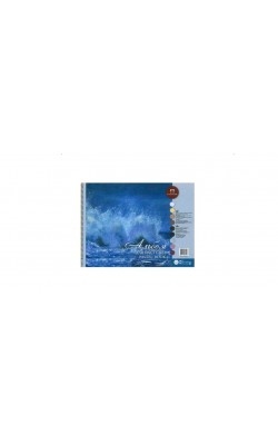 """Альбом для пастели """"Aquamarinе"""", 40% хлопок, 30*40 см, 160 г/м2, 54 л"""