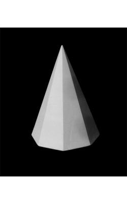Пирамида восьмигранная, гипс