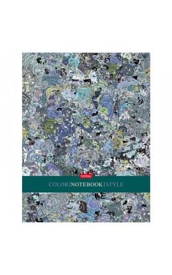 "Бизнес-блокнот ""Hatber"" Color style, А5, 5-ти цветный блок, 80 л"