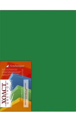"""Холст на подрамнике """"Альбатрос"""", 30*40 см, 100% хлопок, зелёный"""