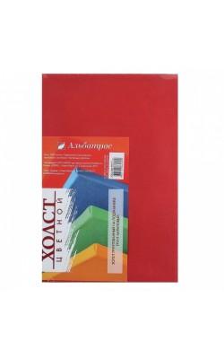 """Холст на подрамнике """"Альбатрос"""", 20*30 см, 100% хлопок, красный"""