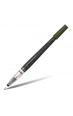 Кисть с краской Colour Brush, зеленый (оливковый) цвет