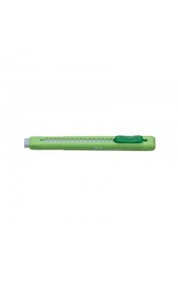 Ластик-карандаш Clic Eraser, матовый салатовый корпус