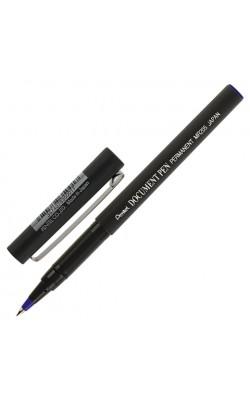Роллер Document Pen одноразовый, синие чернила, 0,5 мм