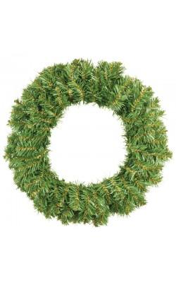 "НГ Венок ""Новогодний 1"" темно-зеленый, диаметр 50см"