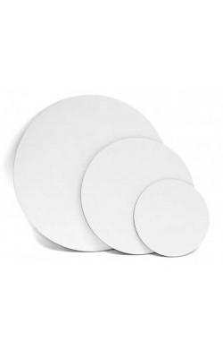 """Холст на подрамнике """"Альбатрос"""", круглый, d=20 см, 100% хлопок, 380 г/м2"""