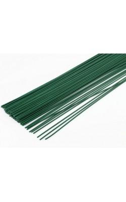 Проволока герберная, зелёная, d=0,5 мм, 25 шт