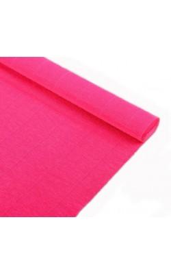 Бумага гофрированная, 50*250 см, 140 г/м2, ярко-розовая, 951
