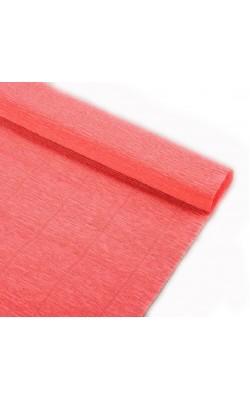 Бумага гофрированная, 50*250 см, 140 г/м2, персиковая, 901