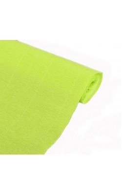Бумага гофрированная, 50*250 см, 140 г/м2, светло-зеленая, 958