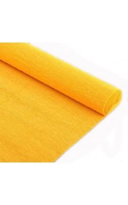Бумага гофрированная, 50*250 см, 180 г/м2, светло-оранжевая, 576