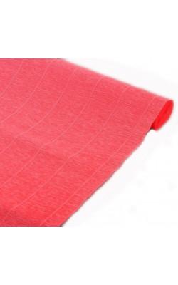 Бумага гофрированная 601 персиковая, 50 см х 2,5 м 180г