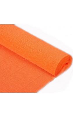 Бумага гофрированная, 50*250 см, 180 г/м2, оранжевая, 581