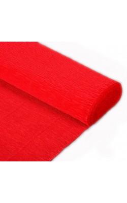Бумага гофрированная 580 красная, 50 см х 2,5 м 180г