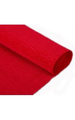 Бумага гофрированная, 50*250 см, 180 г/м2, вишневая, 586