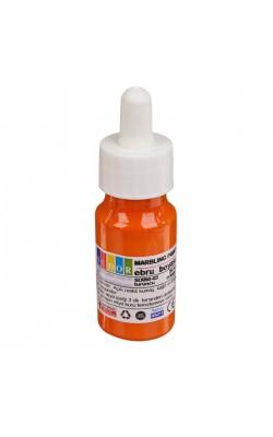 Краска для эбру с пипеткой, 25 мл, цвет 03 (оранжевый)